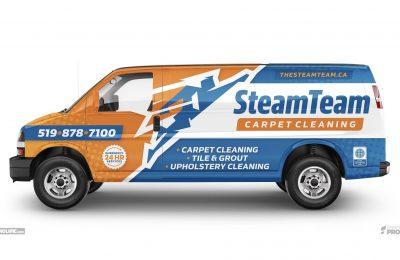 SteamTeam Van Wrap
